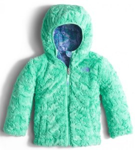 Toddler Girls Reversible Swirl Jacket