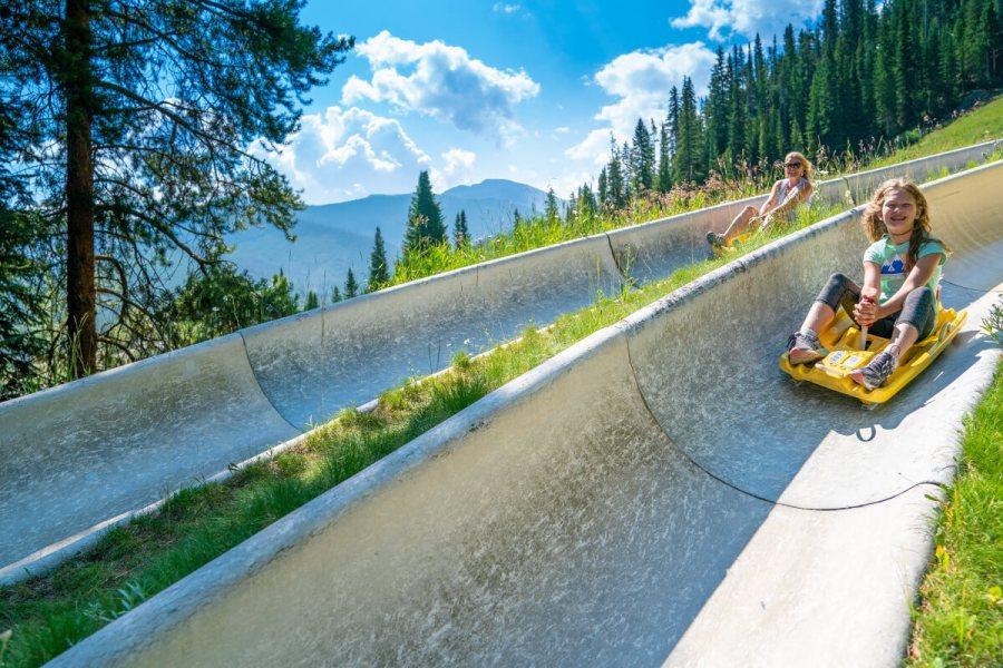 Alpine Slide at Winter Park Resort
