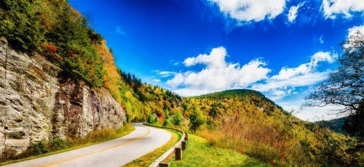 This 91-image composite of the Blue Ridge Parkway running through North Carolina resulted in a 217 megapixel composite.