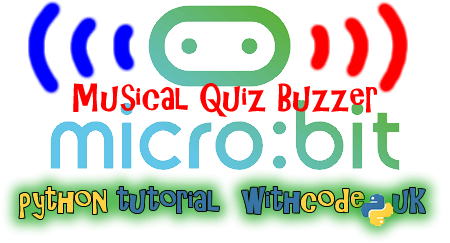 Musical quiz buzzer
