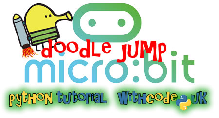 Doodle jump python game for micro:bit