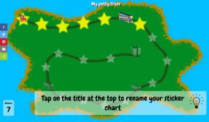 Free potty training chart: open source ad-free sticker chart app