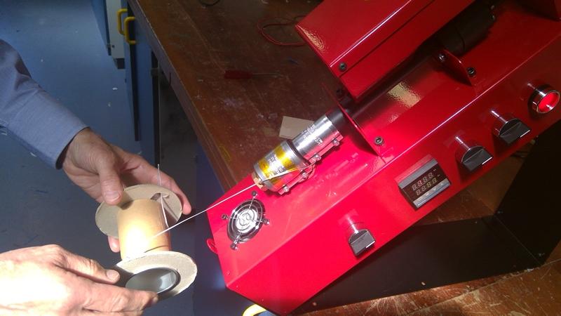 Assembling the 3d printer extruder