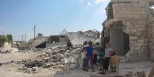 Civilian homes in Killi (Idlib province) destroyed by indiscriminate attacks. © Amnesty International