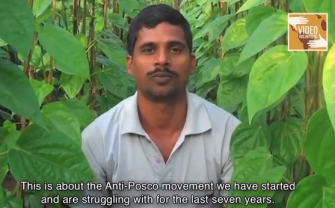 Debendra Swain, a Video Volunteers correspondant, documented the his community's struggle against forced evictions. He was arrested in the police raid, and has not been released.