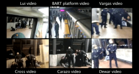 Citizen video was responsible for the rapid circulation of news of Oscar Grant's fatal shooting.