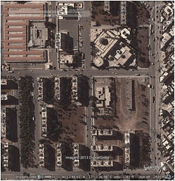 Image © 2013 Digital Globe - © Google Earth - lat 36.229069° lon 37.193606° - October 5, 2011