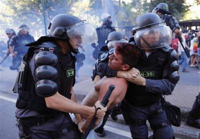 Brazil Soccer WCup Protest
