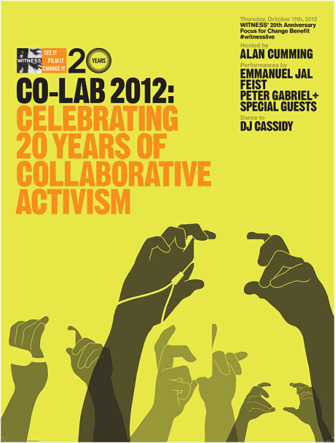 2012: Co-Lab - Celebrating 20 Years of Collaborative Activism