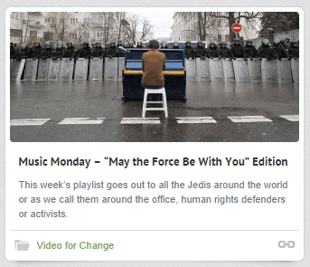 May The Force Be With You Edition