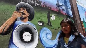 Mural: Protesta contra Megaproyecto