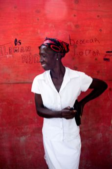 A selection from the Haiti Self-Portrait Project
