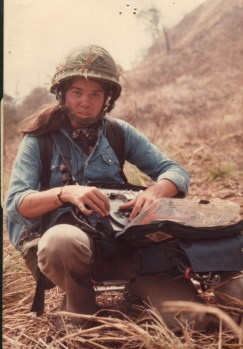 PamelaYates in Guatemala,1982 Photo by Newton Thomas Sigel