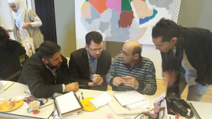 AbdelQadir ya Abooi mentoring for MENA Convening in Turkey