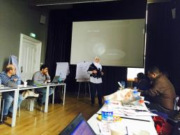 Mayss Al-Zoubi training at MENA convening in Turkey