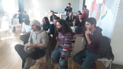 Screening room at MENA convening