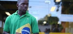 Chauan Cezário, victim of police violence in Rio. Photo by Urbano Erbiste/O Globo.