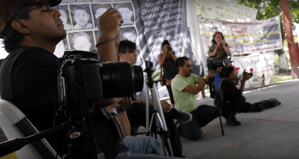 Video Activists Ayotzinapa 201507