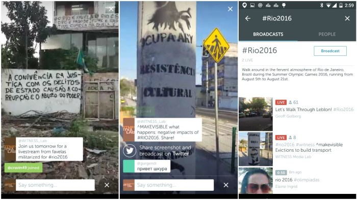 Periscope from Mobil-Eyes Us in #Rio2016