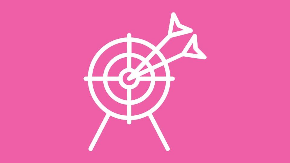target with bullseye icon