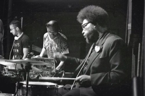 Matthew Law, King Britt, and Questlove
