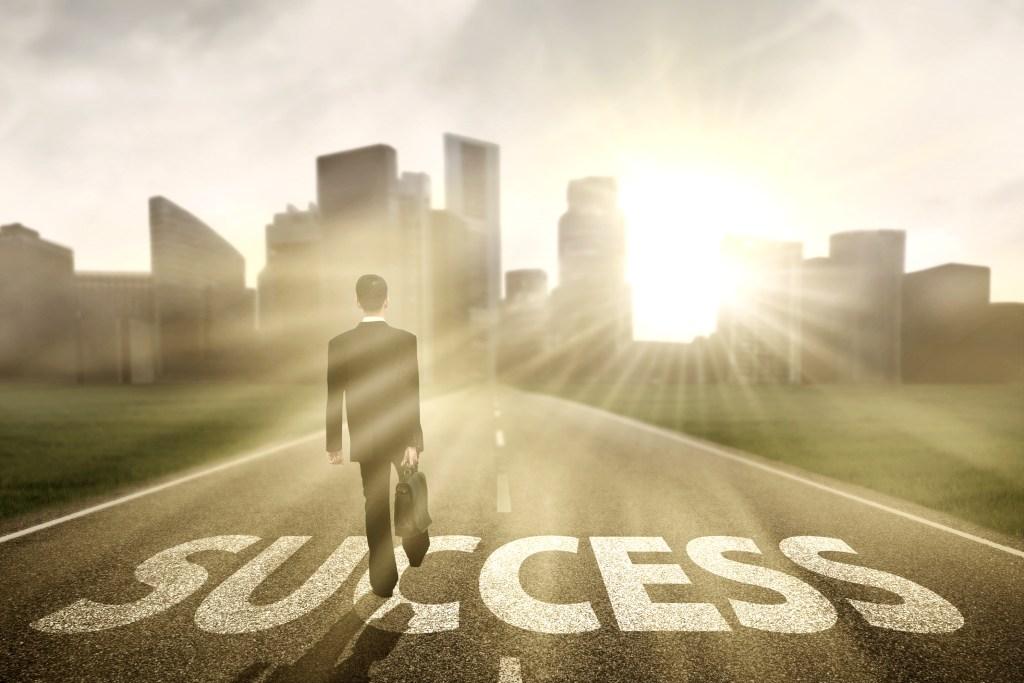 chegando ao sucesso