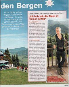 Laura-Artikel- Charis Stank - Sehnsucht nach den Bergen