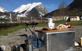 Frühstück Campingplatz