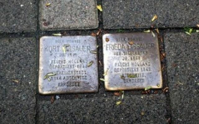 Stolpersteine Mittelweg Hamburg