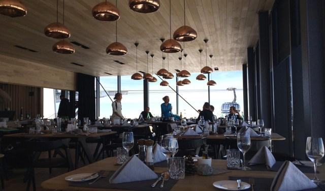 Blick ins Restaurant Ice Q