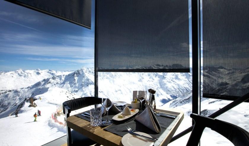 Restaurant IceQ in Sölden
