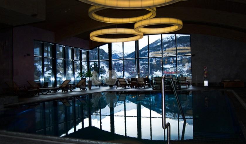 Pool Hotel Bergland Sölden