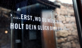 Spruch - Messner Mountain Museum Firmian