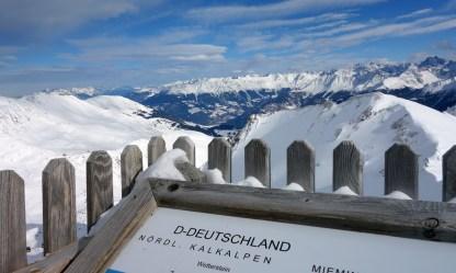 Blick Richtung Zugspitze