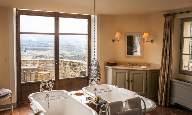 Badewannen Honeymoon-Suite | Hotel Crillon Le Brave | Provence