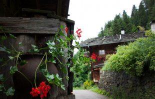 Bergbauernhof Baschtele Ultental