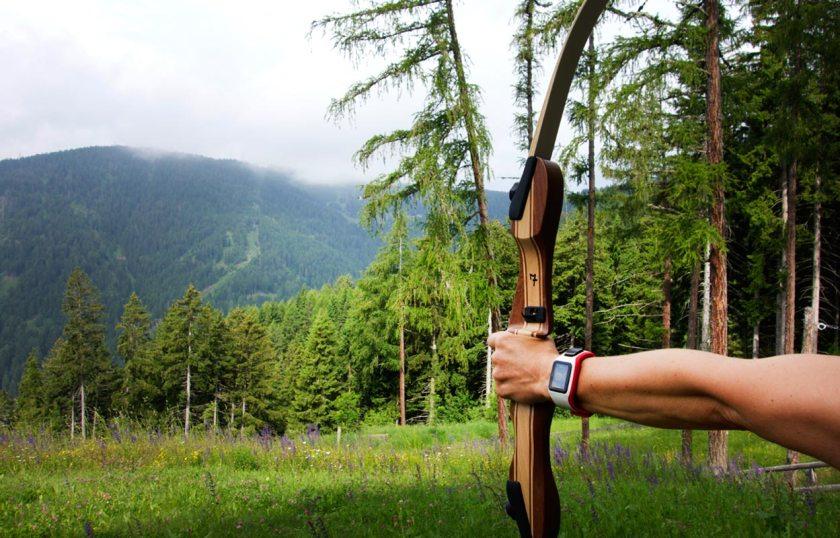 Bogenschießen Vigilius Mountain Resort Südtirol