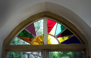 Glasfenster Orangerie Ottmanngut Meran