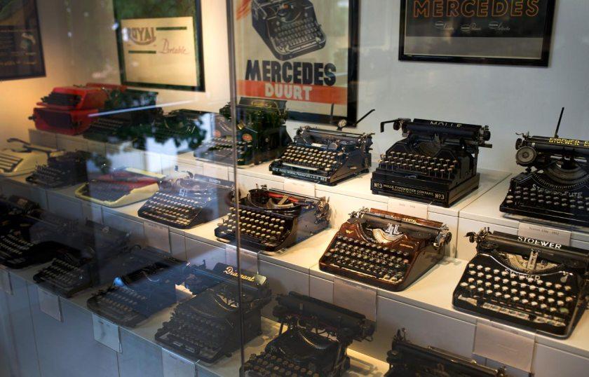 Schreibmaschinenmuseum Partschins Sammlung