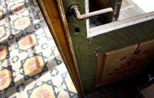 Tür alte Orangerie - Ottmanngut Meran