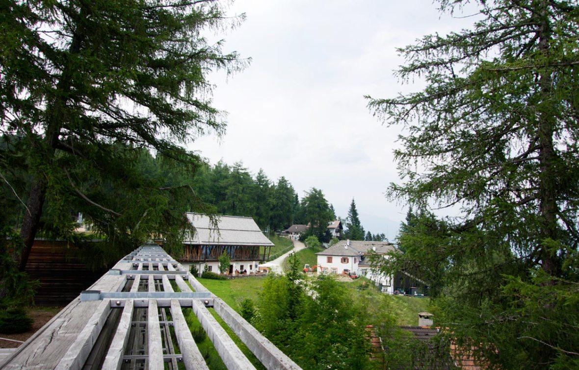 Außenansicht Vigilius Mountain Resort