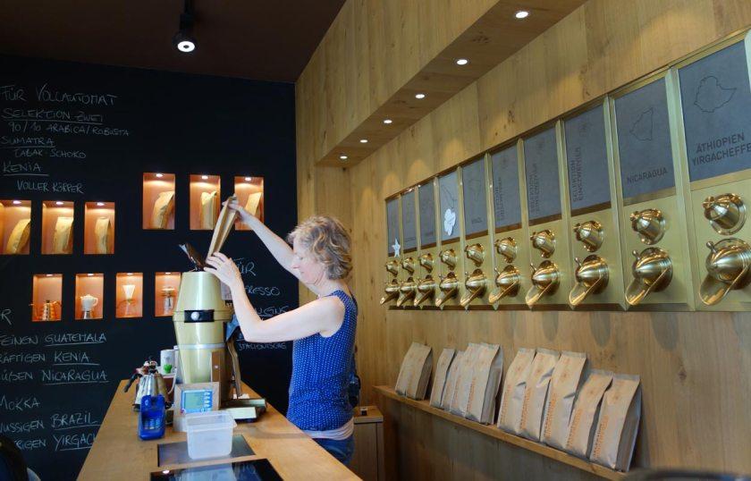 Kaffee mahlen 220Grad Salzburg