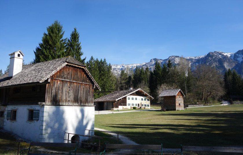 Salzburger Freilichtmuseum - Bauernhaeuser