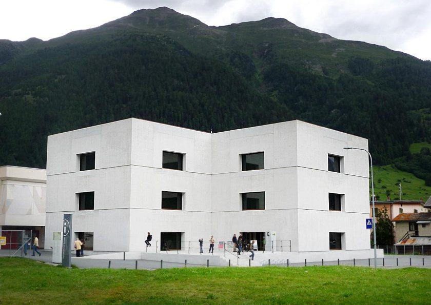 Nationalparkhaus in Zernez
