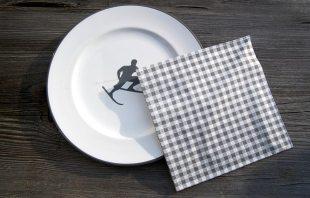 serviette-vichykaro-grau-teller