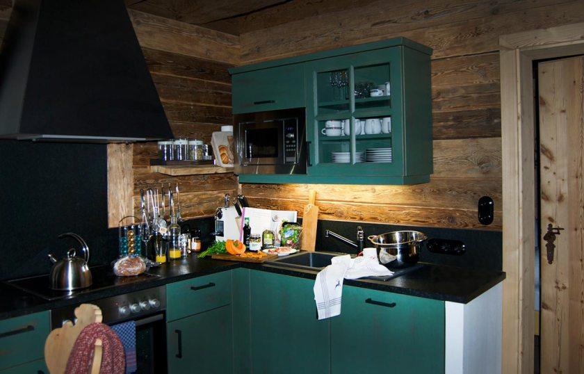 Küche Gletscher Chalet Stubai
