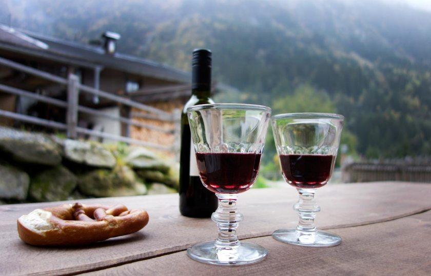 Weingläser Perigord - Gletscher Chalet Stubai