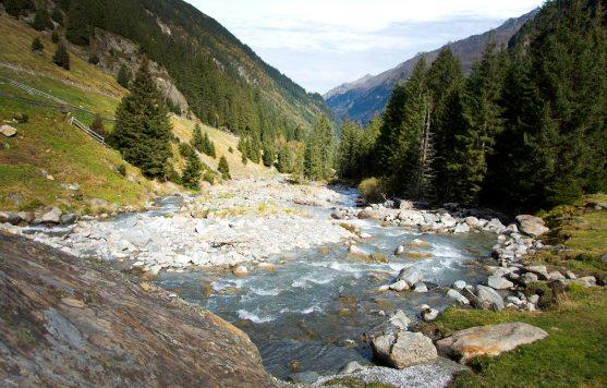 Wilde Wasser Weg Stubaier Alpen