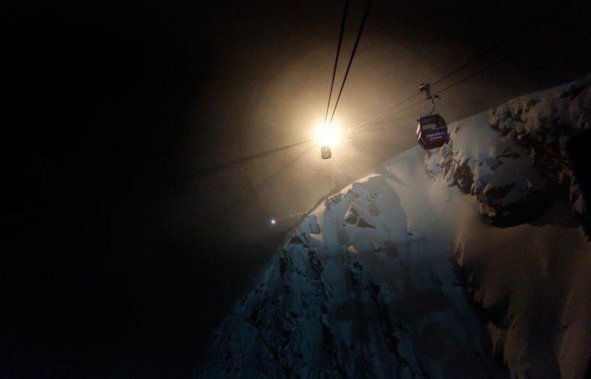 Talfahrt Eisgratbahn