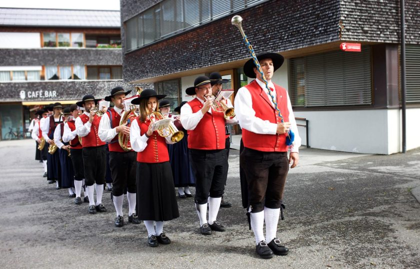Musikkapelle in Krumbach